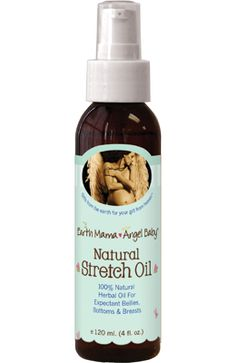 @Earth Mama Angel Baby Natural Stretch Oil is a great way to combat stretch marks. Ask your esthetician for more details.