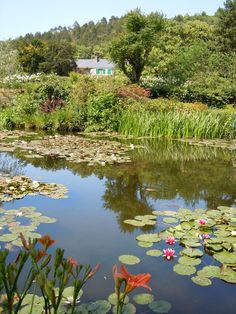 Monet house and Garden Giverny France