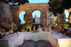 Castillo de Santa Catalina Our Wedding, Wedding Venues, Wedding Ideas, Dolores Park, Spain, Castle, Santa, Table Decorations, Wedding Dresses