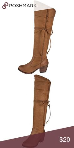 Rocket Dog Suede Boots Over the knee turndown boots. Lightly worn and loved. Rocket Dog Shoes Over the Knee Boots