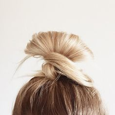 ohhellohair:  Buns aren't a hair style, they're a lifestyle.  Our hump-day style is looking a little like this! @koleha has the right idea when it comes to top-knots. Who's mane looks like this right now?!  #topknotwednesdays #bunlife #bunsforlife #wednesdayhair #haircrush
