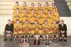 1963-64 Golden Bears hockey team was the first team to win a National title in the CIS.