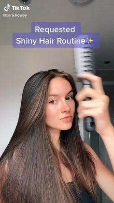 Hair Growing Tips, Diy Hair Treatment, Curly Hair Tips, Shiny Hair Tips, Hair Care Tips, Diy Hair Mask, Healthy Hair Tips, Aesthetic Hair, Hair Care Routine