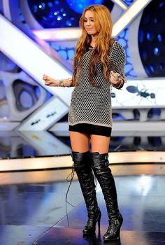Miley Cyrus EL HORMIGUERO HOT by angie.minnie, via Flickr
