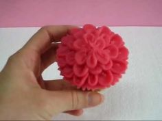 Tutotial boquilla nº 61 Dalia buttercream.wmv - YouTube