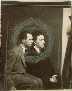 André Breton and Louis Aragon 1929 Ph. Man Ray
