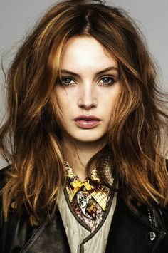 Good hair color for a Soft Autumn.
