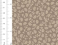 Ginger Lily Studio Expressions: AS0103 cw01 Small Flowers, Lily, African, Studio, Fabric, Collection, Design, Tejido, Tela