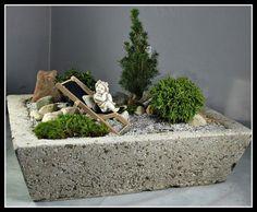Mini garden, stone