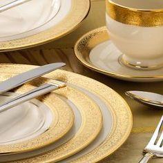 "Lenox ""Westchester"" fine china pattern."