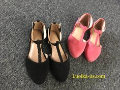 e28d359f33f Aukusor Women s Wide Ballet Flat Shoes - Sandals T-Strap Comfort Light  Pointed Toe Slip on Casual Summer Shoes