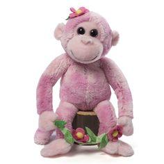 Gund Girls Electra Monkey 15