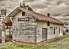 Old train depot found in Yukon, OK.