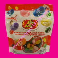 Jelly Belly Assorted 20 Flavours 100g