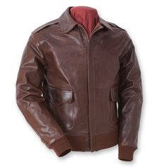 Eastman USAAF Type A-2. Seal Brown Horsehide