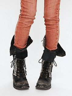 Studded Boots!