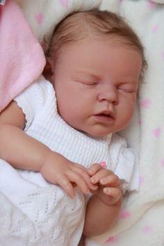 2ea2a144871 Baby Sunshine Reborn Nursery NOAH REVA SCHICK Girl Lifelike Doll by Marian  Ross Bebe Born