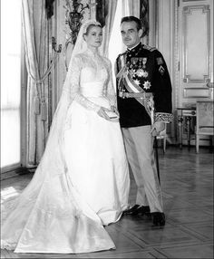 El Palacio de Mónaco comparte fotos del álbum familiar de la boda de la Princesa Grace y el Príncipe Rainiero