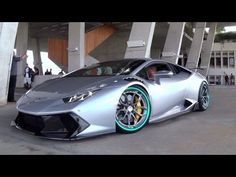 Lamborghini Huracan Novara by Vorsteiner on HRE wheels one of the most h...
