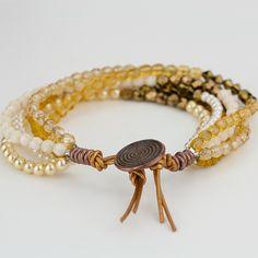 How To Bead a Multi-Strand Bracelet