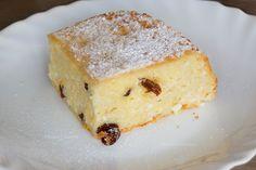 Budincă de tăiței cu brânză la cuptor | Rețete - Laura Laurențiu Cheesecake, Food And Drink, Desserts, Cheesecake Cake, Postres, Deserts, Cheesecakes, Dessert, Cheesecake Bars