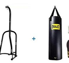 Everlast Single-Station Heavy Bag Stand and Heavy Bag Kit Value Bundle Heavy Bag Stand, Kit, Diving, Bags, Places, Snorkeling, Handbags, Scuba Diving, Totes