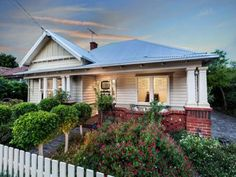 White on white Californian bungalow. 3 Pearce Street Yarraville Vic 3013 - House for Sale #116859067 - realestate.com.au
