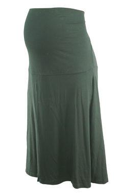 Black Seraphine Maternity Flowy Maternity Skirt (Gently Used - Size Large) - Motherhood Closet - Maternity Consignment