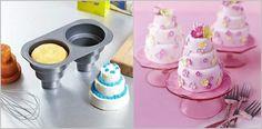 Mini-Wedding Cake Pan