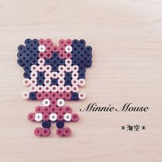 Minnie Mouse perler beads by kaisora0_0