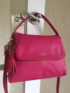 Kate Spade Chester Street Miri Crossbody Sweetheart Pink Cherry Red WKRU4076 #KateSpade #Crossbody