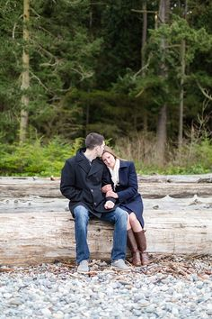 Oak Harbor, Whidbey Island, Washington Engagement Session Photography