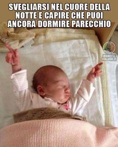 Vignette Italiane immagini divertenti umorismo ridere risate BAMBINI SONNO LETTO SVEGLIARSI QEWFSV