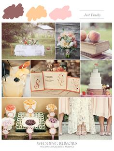 Inspiration Board: Just Peachy