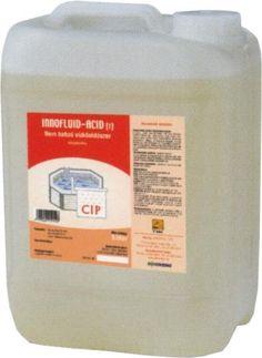 Innofluid ACID-S Detartrant vascos cu actiune dezinfectanta, eficient pentru indepartarea depunerilor de calcar si a ruginei.