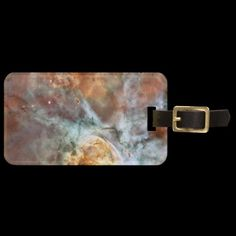 Shop Carina Nebula Luggage Tag created by Ronspassionfordesign. Carina Nebula, Makeup Wipes, Andromeda Galaxy, Custom Luggage Tags, Best Beauty Tips, Standard Business Card Size, Leather Luggage, Winged Eyeliner, Travel Size Products