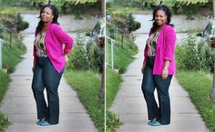 BeautyFash {from Sequins to Cilantro!}: Bright Silk Blazers