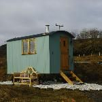 Shepherds hut exterior - Skye Shepherd Huts - Isle of Skye