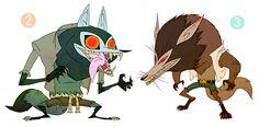 "ca-tsuka:  Early ""Hotel Transylvania"" character-designs by Fabien Mense."