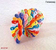quilling 3D | 3D quilling : Helicoid spinner