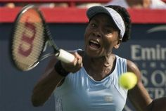 Tennis - Venus Williams beats for the first time in five years her sister Serena to advance to Rogers Cup final in Montreal Venus, Finals, American, Final Exams, Venus Symbol