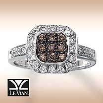 Two of my favorite things in one... Chocolate & Diamonds... It's a must have!