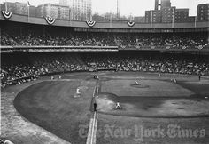 Mets Opening Day - 1962 at the Polo Grounds Baseball Park, Sports Baseball, Baseball Field, Tiger Stadium, Sports Stadium, Ny Mets, New York Mets, Lets Go Mets, How Soon Is Now