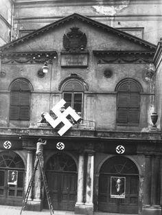 Theater an der Wien Vienna, Austria World War Two, Old World, Nazi Propaganda, Lake Union, Catholic Priest, Austro Hungarian, Book Aesthetic, Wwii, Old Things