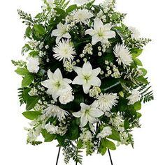 Standing Wreath-Lilies