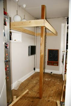 Byg selv en høj seng til børneværelset | JuniorBusiness