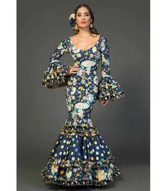 Vestido de gitana Sevilla estampado