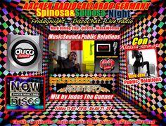 AACHEN RADIOGALLARDO GERMANY: Aachen Radio Event - FridayNight Live radio - Spin...