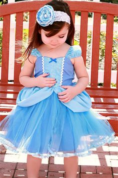 CINDERELLA  dress Princess dress with  TUTU by loverdoversclothing, $65.00