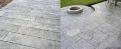 Top 50 Best Stamped Concrete Patio Ideas - Outdoor Space Designs From wood grain to cobblestone styles and beyond, discover the top 50 best stamped concrete patio ideas. Explore simple to maintain outdoor space designs. Brick Walkway, Concrete Walkway, Gravel Patio, Concrete Patios, Front Walkway, Concrete Patio Designs, Backyard Patio Designs, Patio Ideas, Walkway Ideas